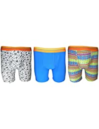 **Great Value** Men's 3 pack Boxer Shorts PATTERNED