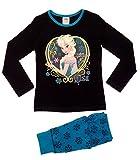 Offizieller Kinder/Mädchen/Jungen-Disney-Frozen-Elsa-Anna-Schlafanzug für Kinder, 2-teiliges Set, lange Ärmel, 100 % Baumwolle Gr. 5-6 Jahre, Elsa - Follow Your Heart