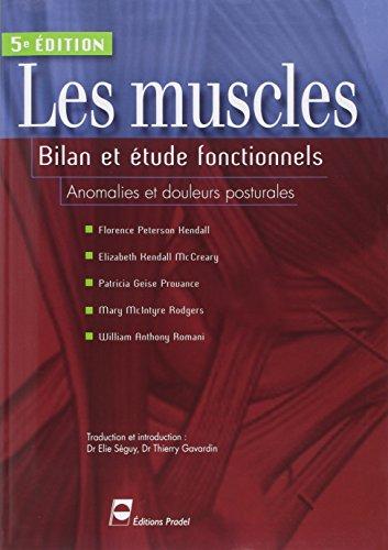 Les muscles, Bilan et étude fonctionnels : Anomalies et douleurs posturales