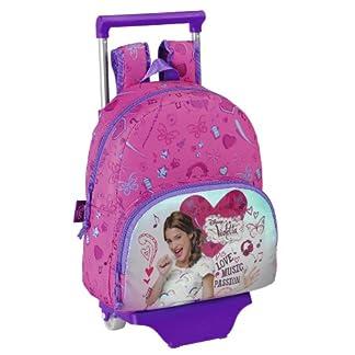 Violetta – Mochila infantil con ruedas, 28 x 34 x 10 cm (Safta 611347020)