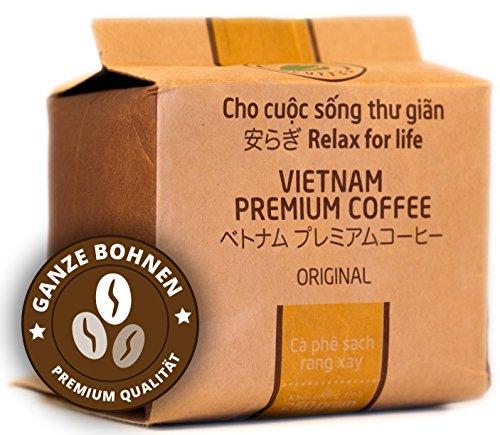 VietBeans – Hello5 Original Espressobohnen 250g – Hochwertige vietnamesische Kaffeebohnen –...