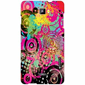 Printland Back Cover For Micromax Canvas Nitro A311 - Silicon pink Designer Cases