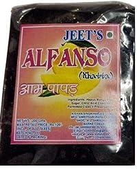 Jeet Alphanso Aam Papad Khatta - Pack of 2-400 GMS