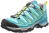 Salomon Damen X Ultra 2 GTX Trekking-& Wanderhalbschuhe, Blau (Bubble Teal Blue/Citrus-X), 40 2/3 EU
