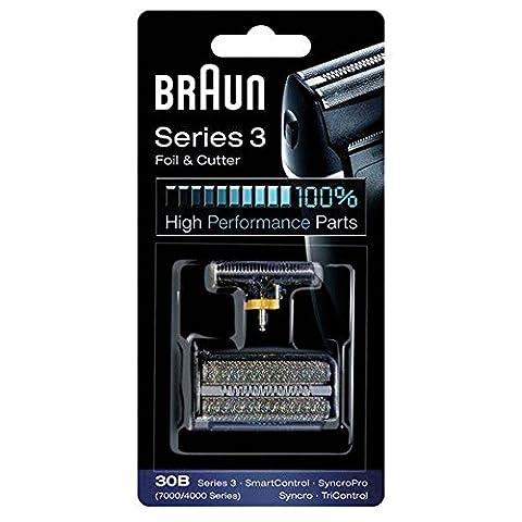 Braun - Combi-Pack Grille et Bloc Couteaux pour 7000 Series, Syncro, SyncroPro, SmartControl,