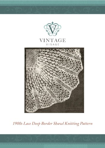 Victorian Style Lace Baby Christening Shawl Vintage Knitting Pattern