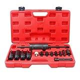 Hengda® 14-tlg Diesel Injektor Injektoren Abzieher Werkzeug Universal Einspritzdüsen Abziehen