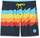 O'Neill Jungen Surfs Out Boardshorts Bademode Badeshorts, AOP W/Blue, 176