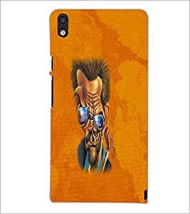 PrintDhaba Funny Image D-4192 Back Case Cover for HUAWEI ASCEND P6 (Multi-Coloured)