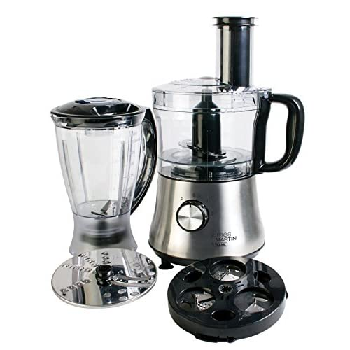 5171L6Pz6xL. SS500  - Wahl James Martin Food Processor Compact with Spiralizer, 500 W, 1.5 Litre with Spiralizer Electric, Ice Crushing 1 L Blender, Blade/ Slicing and Grating disc, 2.3 Kgs