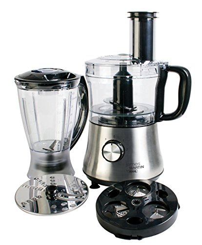5171L6Pz6xL - Wahl James Martin Food Processor Compact with Spiralizer, 500 W, 1.5 Litre with Spiralizer Electric, Ice Crushing 1 L…