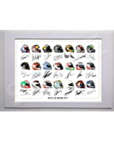 MOUNTED MOTOGP ALL RIDERS & TEAMS 2012 - 2013 SEASON SIGNED 12X8 INCH MOUNT WITH PRINTED AUTOGRAPHS PHOTO PRINT PHOTOGRAPH AUTOGRAPHED POSTER HELMETS SHIRT GIFT PRESENT XMAS CHRISTMAS BIRTHDAY NEW FULL MOTO GP LINE UP INCLUDING CASEY STONER VALENTINO ROSSI JORGE LORENZO COLIN EDWARDS BEN SPIES DANI PEDROSA CAL CRUTCHLOW