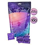 """VIBRATISSIMO """"Mix"""" Confezione da 100 profilattici misti per un piacere puro, una sensazione naturale ed extra umidità"""