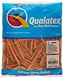 Ballons Qualatex 260 orange (sachet de 100)