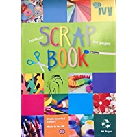 Jumbo Coloured Scrapbook 64 Pages 370x240mm (1)