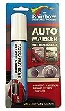Grande bianco auto Marker-Vernice per auto Body asportabili e parabrezza