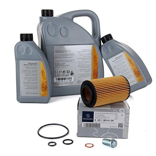 Preisvergleich Produktbild Orignal Mercedes-Benz Motoröl + Ölfilter
