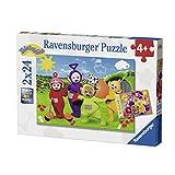 Ravensburger-07804-Puzzle Benvenuto in Teletubbies 2x 24Pezzi