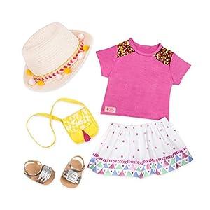 Our Generación bd30342z Accesorio para muñecas, Color Rosa