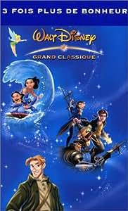 Coffret Disney 3 VHS : Lilo & Stitch / La Planète au trésor / Atlantide, l'empire perdu