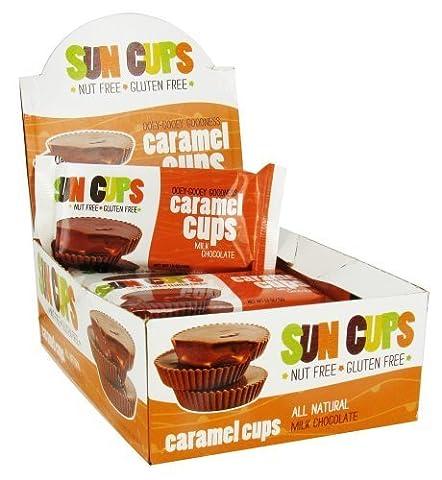 Sun Cups - Gluten Free Ooey-Gooey Goodness Caramel Cups Milk Chocolate - 1.5 oz. by Sun Cups