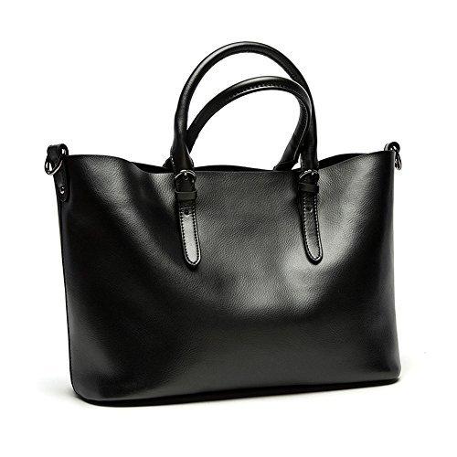 Kattee Leder Damen Handtaschen,Hobo-Bags,Schultertaschen,Beutel, Beuteltaschen,Leder Tasche