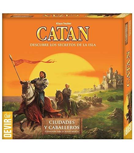 Devir - Expansión Catán: Ciudades Caballeros 42296