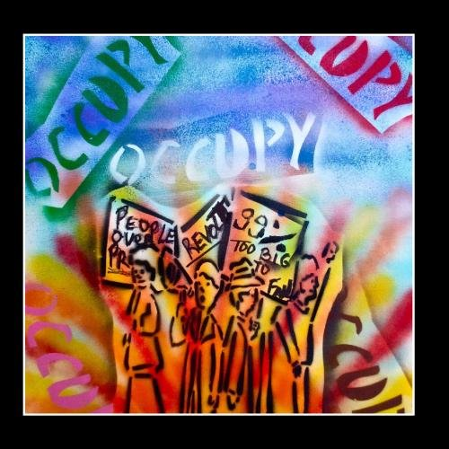 Occupy Wall Street, Occupy L.A. - Single (Wall-street-single)