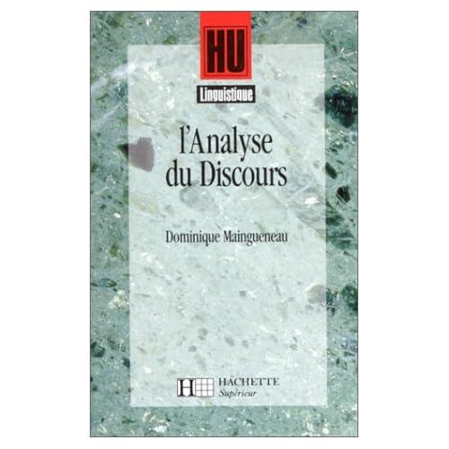 L'analyse du discours : Introduction aux lectures de l'archive