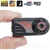 Mini Caméra Espion 12MP photo vidéos vision nocturne Full HD 1080P