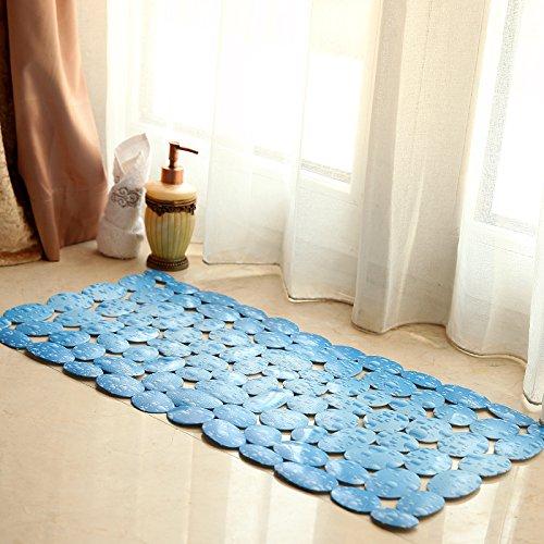 Wc wc wc i piedini antiscivolo porta di sicurezza matDoccia e bagno con vasca nella portaIl pvcResistente all'acqua mat piedi,35*71cm,1