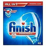 Beenden Sie alle in 1 Powerball Tabs für Spülmaschinen (52) - Packung mit 6