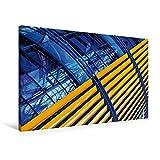 Calvendo Premium Textil-Leinwand 90 cm x 60 cm Quer, Quatier Daimler in Berlin | Wandbild, Bild auf Keilrahmen, Fertigbild auf Echter Leinwand, Leinwanddruck Orte Orte