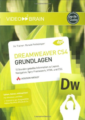 Adobe Dreamweaver CS4 – Grundlagen
