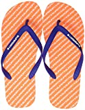 Superdry International Flip Flop, Infradito Uomo, Multicolore (Fluro Orange/Cobalt I3f), 42-43 EU/M