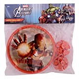 Disney DJH26116 Ironman Plastic Catch Ball Set, Kid's (Red)