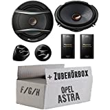 Opel Astra F,G,H - Pioneer TS-A173Ci 2-Wege 16cm Lautsprecher System - Einbauset