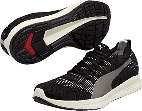 Puma IGNITE ProKnit, Chaussures de course homme Noir - Noir (noir/blanc 02)