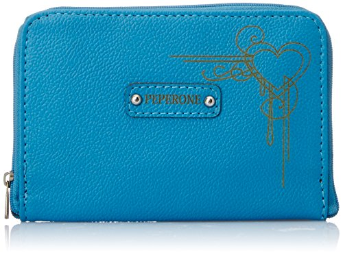 Peperone  Women's Wallet (Sky Blue)  available at amazon for Rs.299