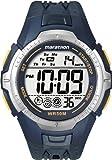 Timex Marathon Digital Chronograph Blue Resin Strap Gents Watch T5K355