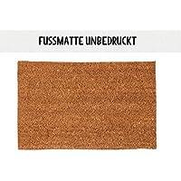 Kokos-Fußmatte Fußabtreter Türmatte 40 x 60 cm