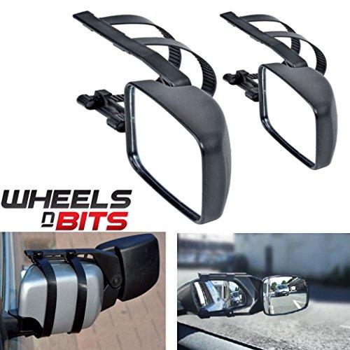 Preisvergleich Produktbild Erweiterung für Autoaußenspiegel, für Mitsubishi Lancer L200, 2 Stück