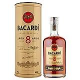Bacardi Rum Gran Reserva, 8 anni, 70 cl con latta
