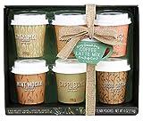 Modern Gourmet Foods - Mini Kaffee Geschenkset - Probierset Mit 6 Verschiedenen Kaffee-Mischungen - 6 x 19 g