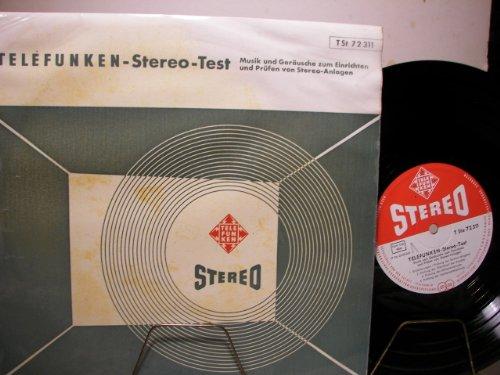 """TELEFUNKEN - STEREO - TEST - 10"""" - VINYL"""