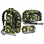 Satch, Set de Sac scolaire jaune Jungle Flow