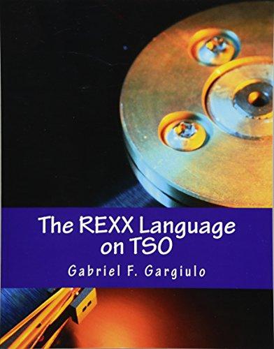 Preisvergleich Produktbild The REXX Language on TSO