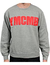 YMCMB - YMCMB - Sweat-shirt Gris logo Rouge - Homme