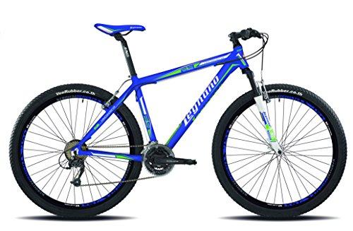 Legnano Ciclo 610 7L730B6 Val Gardena, Mountain Bike Uomo, Blu, 40