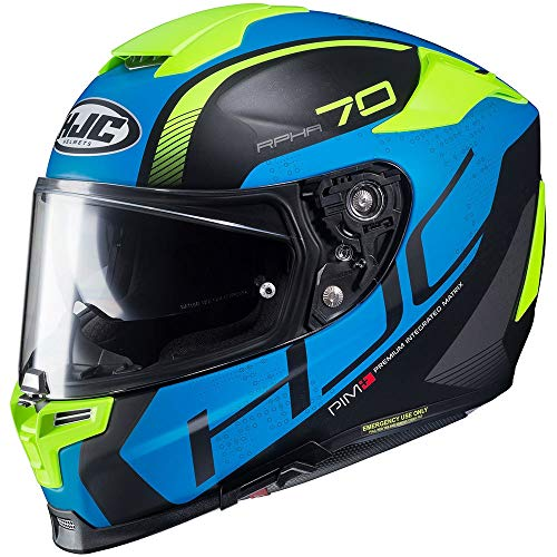 HJC casco rpha70 vias mc2sf m